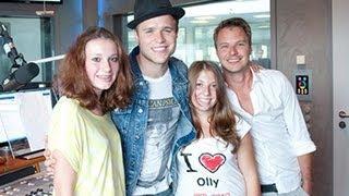 ANTENNE BAYERN-Ferienreporterinnen Emilie und Natalie im Interview mit Olly Murs