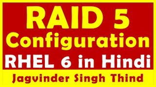 RAID 5 Configuration in RHEL 6 - RAID in Linux Part 3