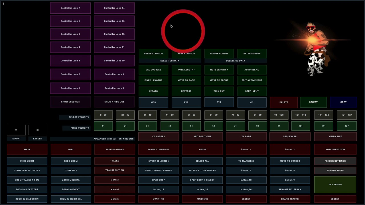 I'm building a Cubase 11 Touchscreen Controller with OSC (Open Stage Control) Progress after 3 days!