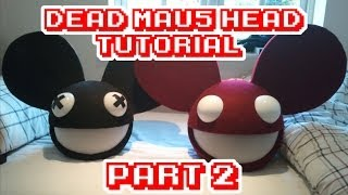 DeadMau5 head how to/tutorial part 2 WITH LIGHTS!