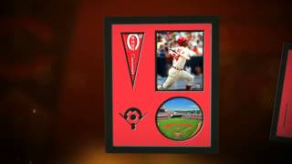 Cincinnati Reds  Great American Ball Park aerial stadium Players Prints & Posters, Sports Art