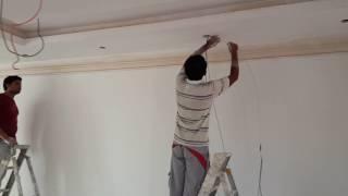 تمديدات الإضاءة للسبوت لايت و الاضاءة المخفية Electrical installation for lighting