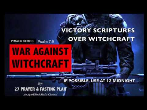 WAW: 23 Victory Scriptures Over Witchcraft