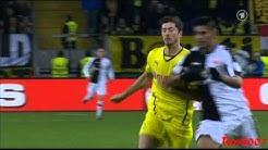 Zambrano vs Lewandowski- Veh vs. Zorc:  ( DFB-Pokal Eintracht Frankfurt vs.Borussia Dortmund)