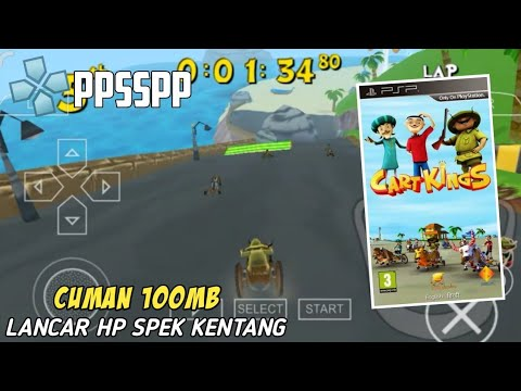 GAME CART KINGS Cuma 100MB Di Ppsspp Android