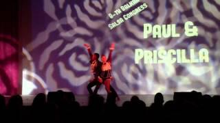 """Paul y Priscilla """"Hasta la semana que viene"""" Balkan Salsa Congress 2014"""