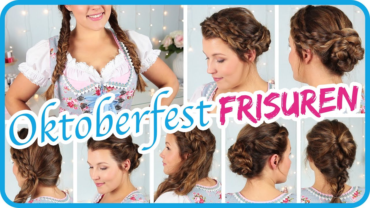 Oktoberfest frisuren fur schulterlanges haar