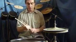 Владимир Прокофьев барабаны видеоурок №2