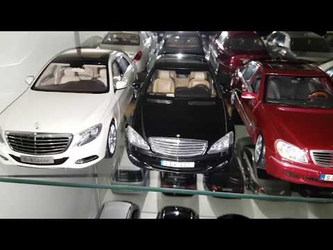 MY 1:18 model car collection(160 MODELS)