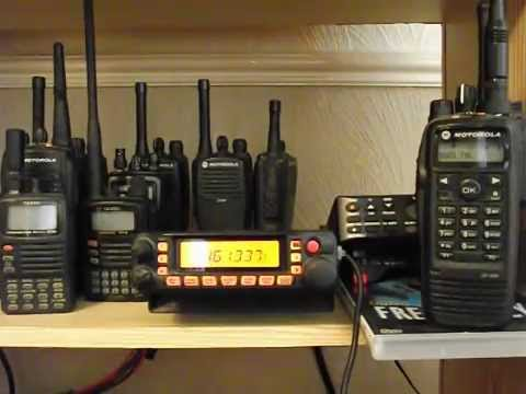 Yaesu FT7900 & Motorola DP3600 - Analogue & Digital Radio Scanning