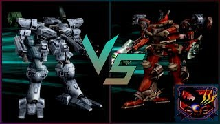Armored Core 2 - Starter AC VS Ares (HARD)