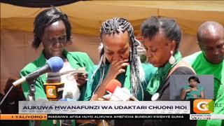Ivy Wangechi azikwa nyumbani kwao Othaya