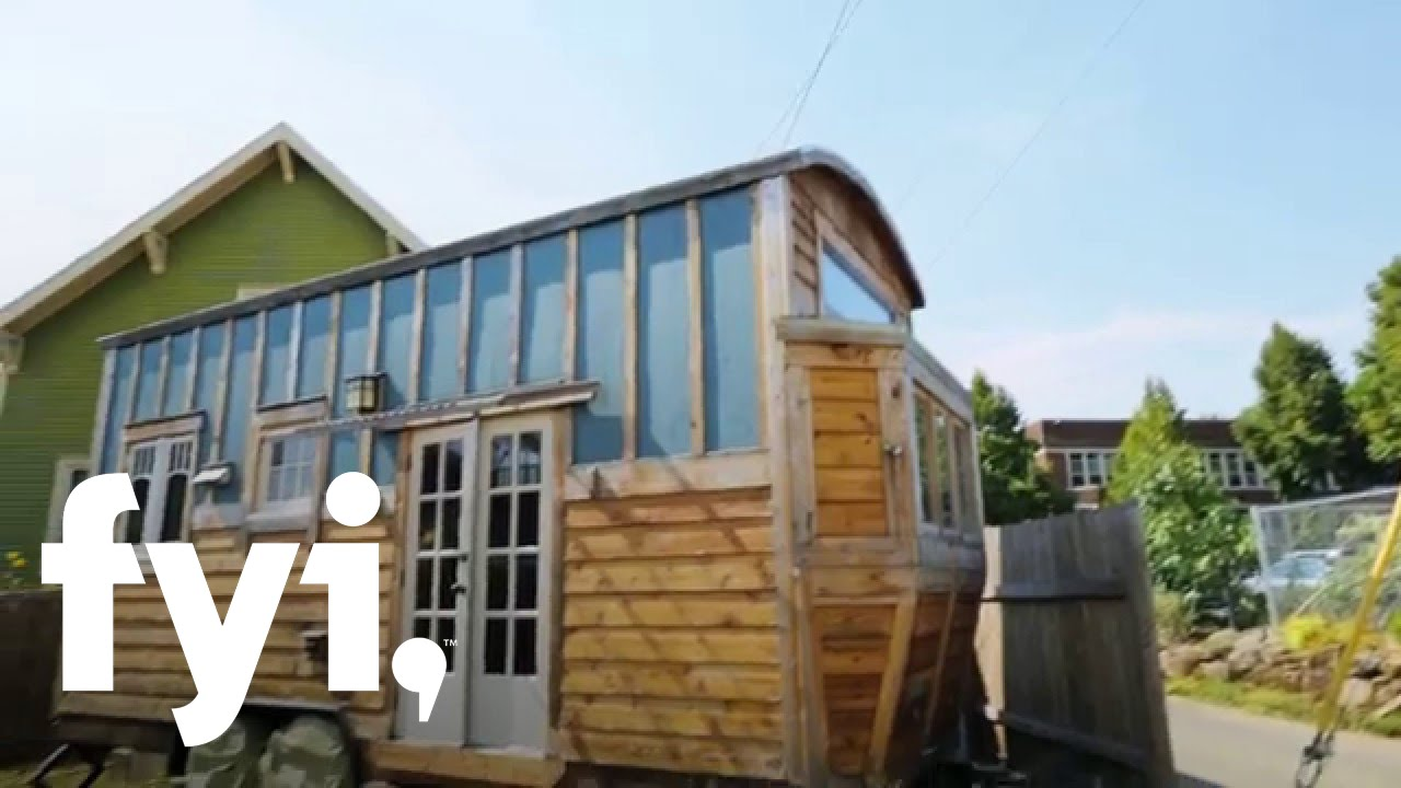 Tiny House Hunting Luxuriously Tiny In Portland Fyi Youtube