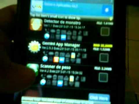 Gemini App Manager Mova Os Apps Ao Sd Android
