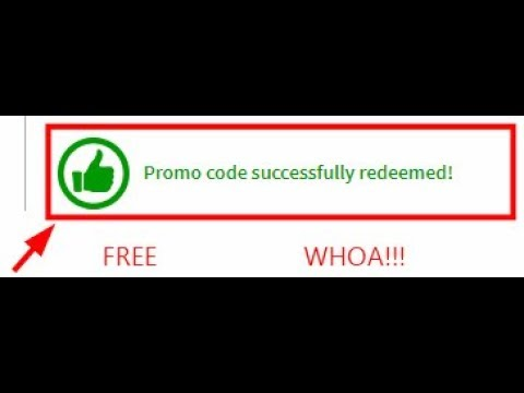 Testing ROBLOX Promocodes YouTube