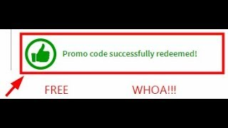 Testing ROBLOX Promocodes