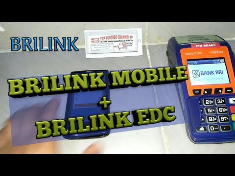 Mantap Agen Brilink Mesin EDC Bisa Rangkap Brilink Mobile