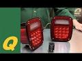 Quadratec LED Tail Lights for Jeep Wrangler and CJ