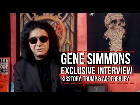 Gene Simmons on KISStory, Trump, Terrorism + Jamming With Ace Frehley