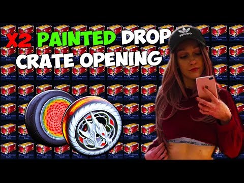 DOUBLE PAINTED DROP RATE PCC CRATE OPENING + TRADE UPS WITH
