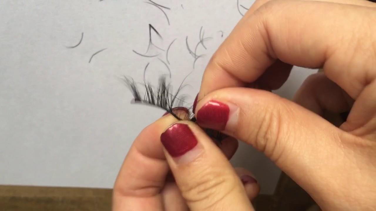 12b1f3ff50b 3D Mink Lashes Shedding Test - YouTube