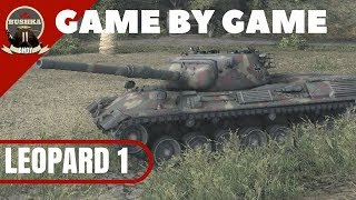 LEOPARD 1 GAME BY GAME WORLD OF TANKS BLITZ