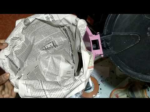 DUSTBIN BAG USING OLD NEWSPAPER (DIY) !!!!!