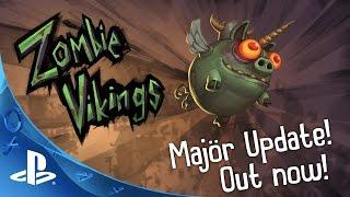 Zombie VIkings -Majör Update Trailer | PS4