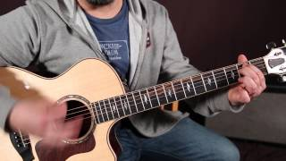 Bob Seger - Turn The Page - Guitar Lesson - How to Play Super Easy Beginner Chords - Acoustic Songs