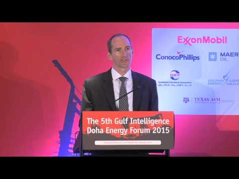 The Gulf Intellingence Doha Energy Forum, Alistair Routledge, Pres. & GM, ExxonMobil Qatar Inc.