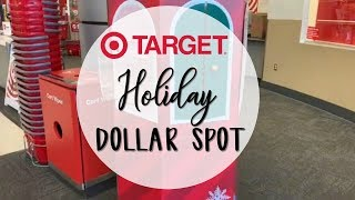 Shop With Me: Target Dollar Spot Holiday 2018 | E.Michelle
