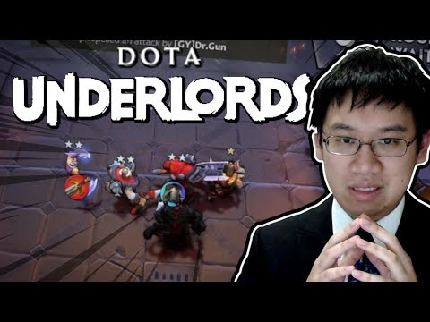 DOTA Underlords BETA! Auto Chess FRESH FROM VALVE!