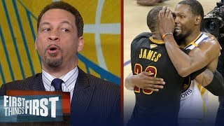 Chris Broussard details how Kevin Durant can surpass LeBron James   FIRST THINGS FIRST