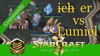 ̶i̶̶c̶̶h̶  er vs Lumiel (PvZ) - Starcraft 2: LotV Communityreplays 2019 [Deutsch | German]