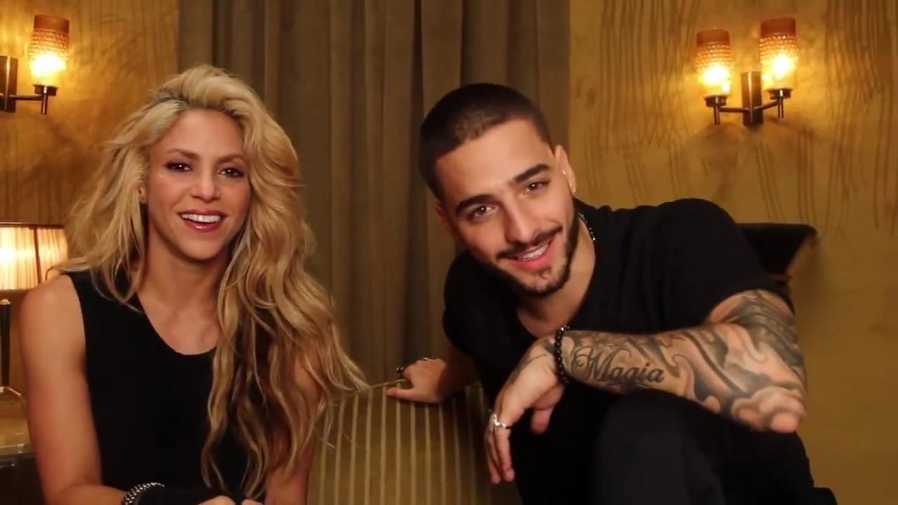 Shakira & Maluma invitan a escuchar su nueva canción # ...