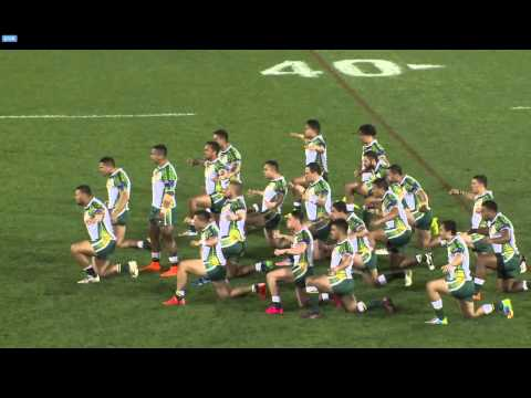 Tonga & Cook Islands Clash During War Dance