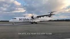 (Trip Report) Nordic Regional Airlines ATR 72-500 (ECONOMY) Kuusamo (KAO) - Helsinki (HEL)