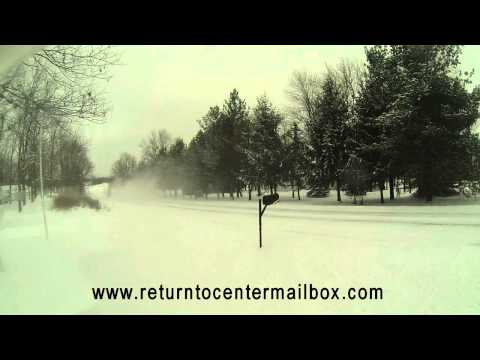 Return-to-Center Mailbox Post vs. Snow Plow