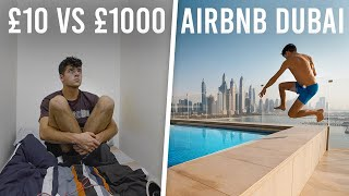 I Stayed in a £10 vs £1000 AIRBNB in Dubai for 48 hours...