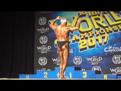 Cavallin Bruno Rome 2017 winner world champion