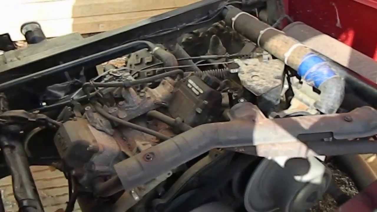 Kawasaki Mule  Engine Replacement