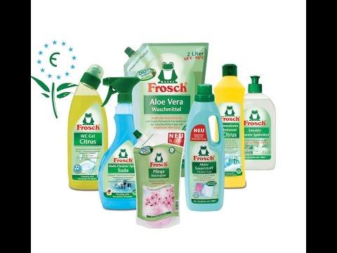 Frosch - бытовая химия на основе натуральных природных компонентов