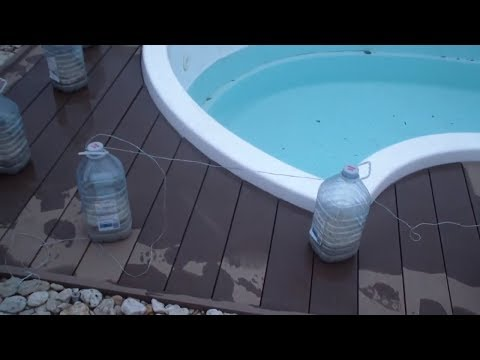 Как законсервировать бассейн на зиму