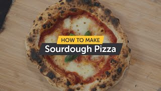 How To Make Sourdough Pizza | Making Pizza At Home