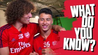 What Do You Know? | David Luiz v Gabriel Martinelli | 🇧🇷 Brazil special