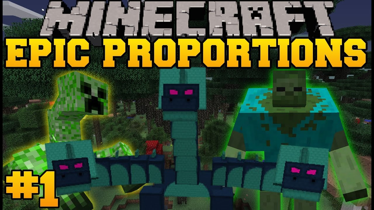 Minecraft Epic Proportions Pirate Ship Episode 1 S2