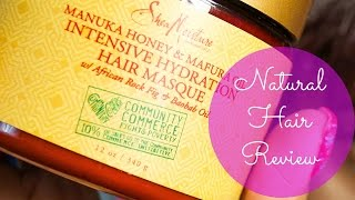 Shea Moisture Manuka Honey And Mafura Oil Hair Masque Review