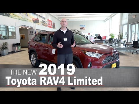 All-New 2019 Toyota RAV4 Limited | Minneapolis, Golden Valley, Coon Rapids, MN | Walk Around