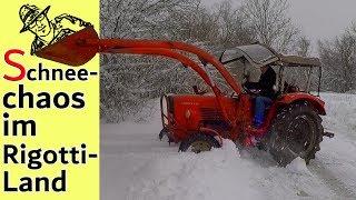 Schnee-Chaos im Süden Deutschlands 😮