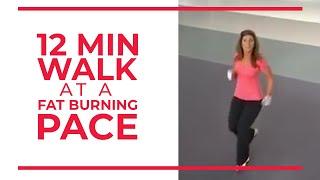 Download 12 Minute Walk at Fat Burning Pace | Walk at Home
